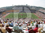 "Boston College Eagles ""50 Yard Line"" at Alumni Stadium Poster"