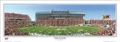 """Virginia Tech Hokies"" Lane Stadium Panoramic Poster"