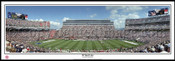 """30 Yard Line"" at Beaver Stadium Panoramic Poster"