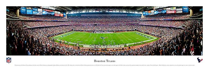 Houston Texans at Reliant Stadium Panorama Poster