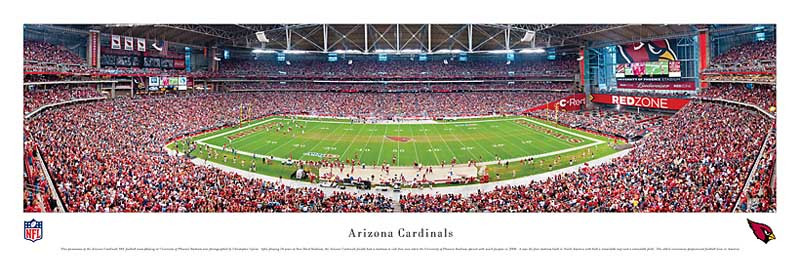 Arizona Cardinals at University Of Phoenix Stadium Panorama