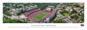 Georgia Bulldogs At Sanford Stadium Aerial Panorama Poster