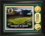 Oregon Ducks - Autzen Stadium Gold Coin Photo Mint