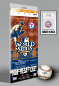 2010 World Series Mini-Mega Ticket - Texas Rangers