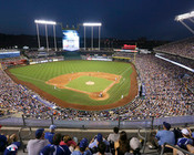 Kansas City Royals at Kauffman Stadium Photo