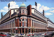 """Twenty-First and Lehigh"" Philadelphia Phillies Print"