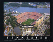 Neyland Stadium Aerial Poster