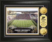 Purdue Boilermakers - Ross Ade Stadium Gold Coin Photo Mint