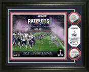 Super Bowl XLIX Champions Silver Coin Photo Mint