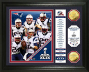 New England Patriots Super Bowl XLIX Champions Photo Mint