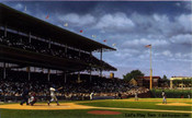"""Let's Play Two"" Chicago Cubs Print"