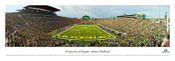 Oregon Ducks at Autzen Stadium Panoramic Poster