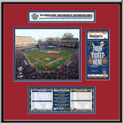 2010 World Series Ballpark in Arlington - Rangers Ticket Frame