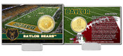Baylor Bears Bronze Coin Card