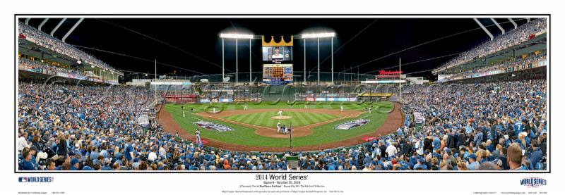 """2014 World Series"" Kansas City Royals Panorama Poster"