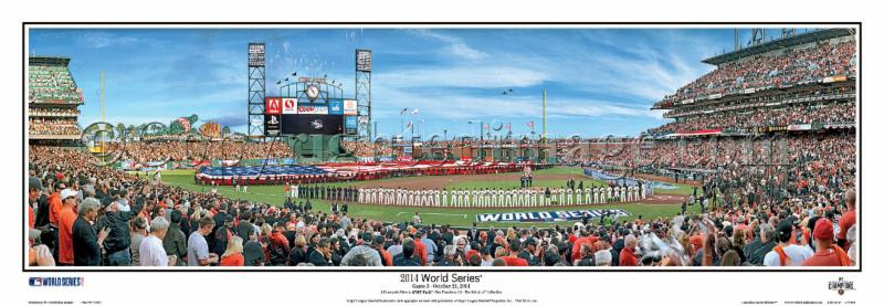 """2014 World Series"" San Francisco Giants at AT&T Park Panoramic"