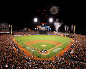 San Francisco Giants at AT&T Park Fireworks Photo