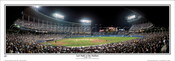 """Last Night at the Stadium"" Indians Panoramic Framed Poster"
