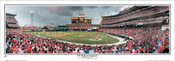 """""""The Magical Comback"""" Los Angeles Angels Panoramic Framed Poster"""