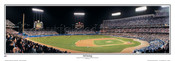 """3rd Inning"" Los Angeles Dodgers Panoramic Framed Poster"