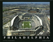 Lincoln Financial Field Aerial Poster