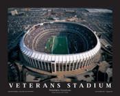 Veterans Stadium Aerial Poster