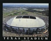 Texas Stadium Aerial Poster