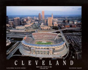FirstEnergy Stadium Aerial Poster