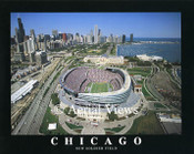 Soldier Field Aerial Poster