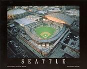 Seattle - Safeco Field at Dusk Fine Art Print