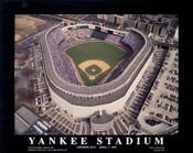 Old Yankee Stadium Aerial Poster