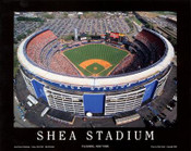 New York Mets - Shea Stadium Fine Art Print
