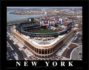 Citi Field Aerial Poster - Click to Buy!