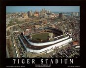 Detroit - Tiger Stadium Final Game Fine Art Print