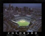 Colorado - First Rockies Game at Coors Field Fine Art Print