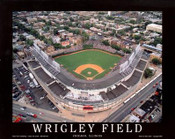 Chicago - Wrigley Field Fine Art Print