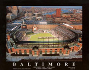 Camden Yards Aerial Poster