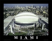 Marlins Park Aerial Poster - Click to Buy!