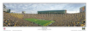 """28 Yard Line"" Wolverines at Michigan Stadium Panoramic Poster"