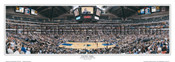 """Foul Shot"" Dallas Mavericks Panoramic Poster"