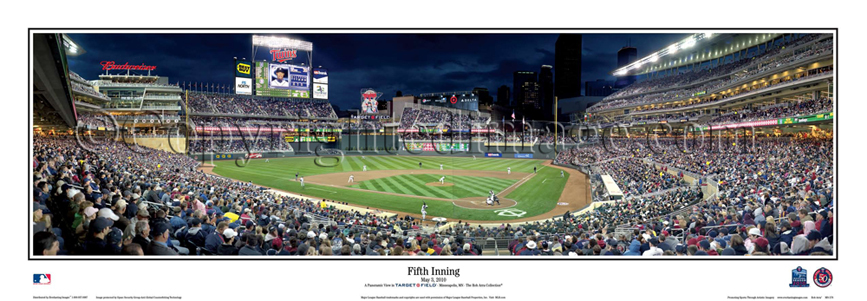 Panoramic MLB Ballpark Posters