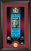 Tampa Bay Buccaneers Super Bowl 50th Anniversary Photo Mint 1
