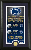 """Penn State Nittany Lions """"Legacy"""" Coin Panoramic Photo Mint"""