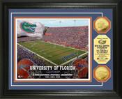 Florida Gators Ben Hill Griffin Stadium 24KT Gold Coin Photomint