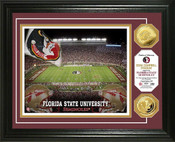 Florida State Seminoles - Doak Campbell Stadium Gold Coin Photo
