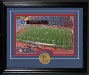University of Kansas Memorial Stadium Desktop Photomint