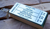 Wrigley Field Ticket Stadium Seat Keyring