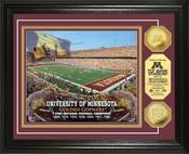 Minnesota Golden Gophers - TCF Bank Stadium Gold Coin Photo Mint