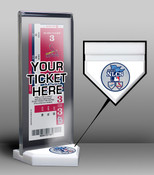 2013 NLCS Ticket Display Stand - Cardinals vs Dodgers