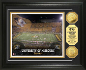 Missouri Tigers Faurot Stadium 24KT Gold Coin Photomint